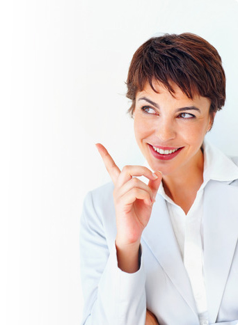 prezi presenter showing finger